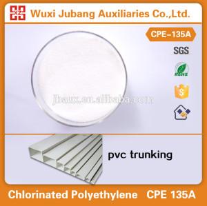 Pvc schlagzähmodifikator chloriertes polyethylen cpe135a für pvc-trunking