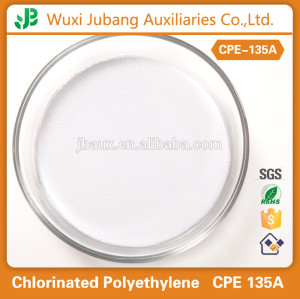 Tubos de Pvc materia prima, cpe 135a, agentes químicos