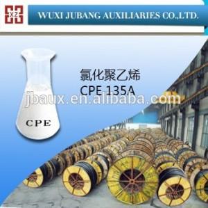 cpe 135a pvc chloriertes polyethylen für isolierte elektrische kabelleitungen