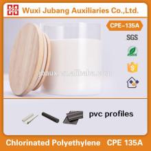 Polyéthylène chloré CPE-135A comme pvc profil impact modificateur