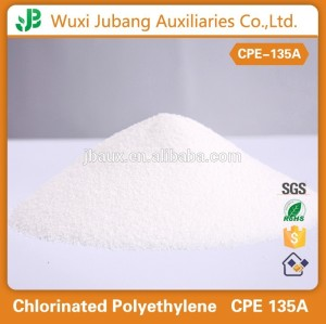 Tubería de pvc modificador de procesamiento de polietileno clorado cpe 135a