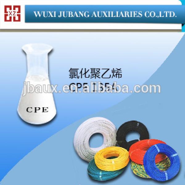 Cpe 135A chlorés ployethylene résine pour pvc raccords