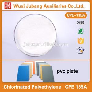 CPE 135a, 화학 보조, 충격 수정 PVC 판