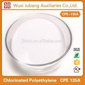 중국 공급 업체 염소화 폴리에틸렌, CPE 135a 분말, 화학 auxiliaries