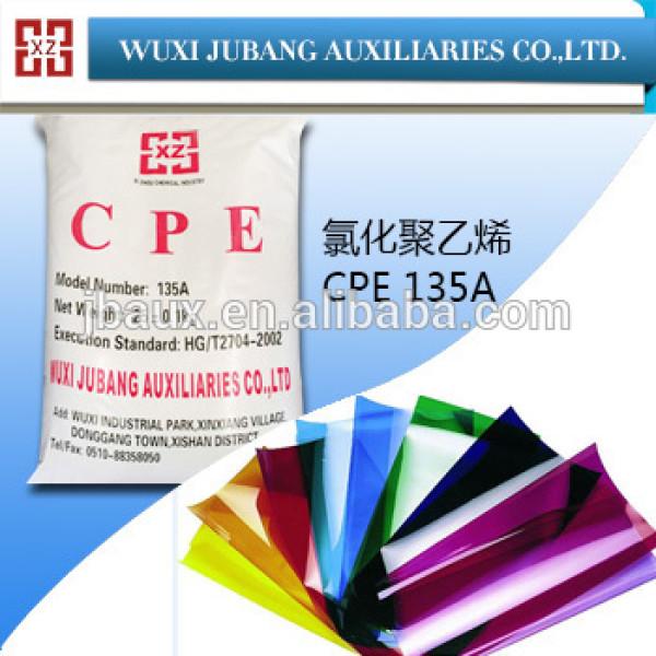 Cpe-135a, Auxiliaire chimique, Rénovation en plastique pour PVC FILMS