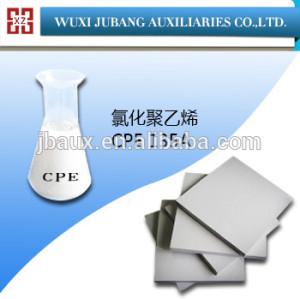 Cpe 135A clorada ployethylene resina para hoja