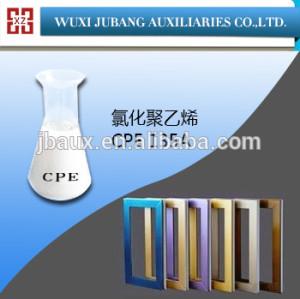Cpe 135A clorada ployethylene resina para ventana perfiles