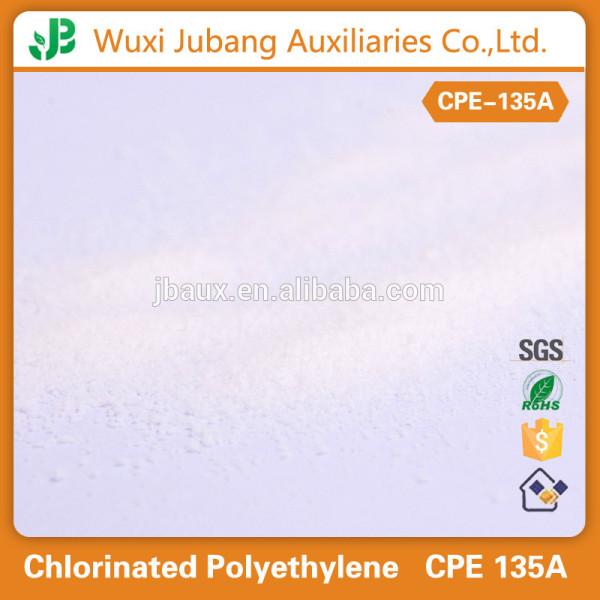 Cpe 135A polyéthylène chloré résine pour Recouvert de PVC Fil