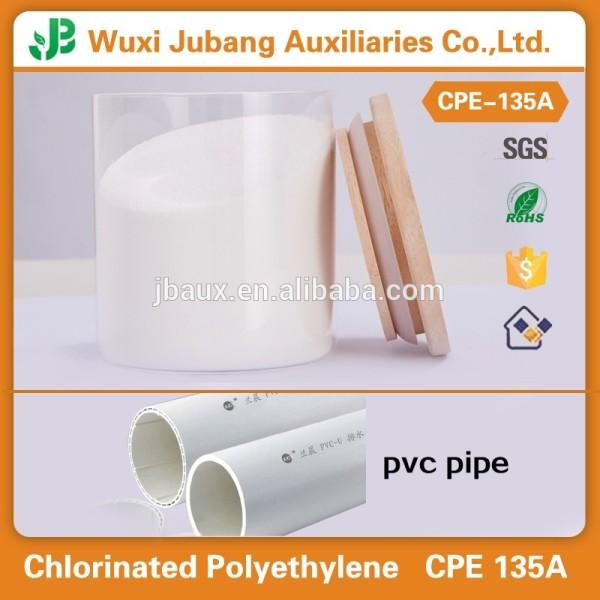 CPE135A, JuBang marque, Plastique impact modificateur, Pour PVC, PVC