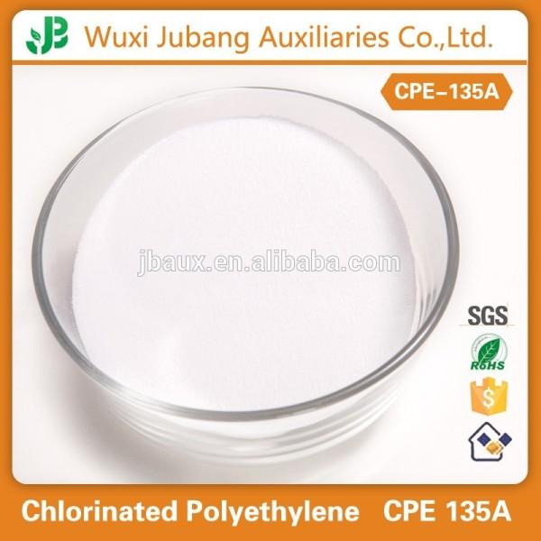 Excellente performance PVC impact modificateur polyéthylène chloré CPE 135A