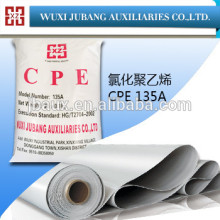 Cpe-135a, Produits chimiques, Polyéthylène chloré pour pvc films