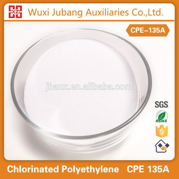 Cpe135a polyéthylène chloré pour pvc, Pp, Pe, Abs etc . vente chaude