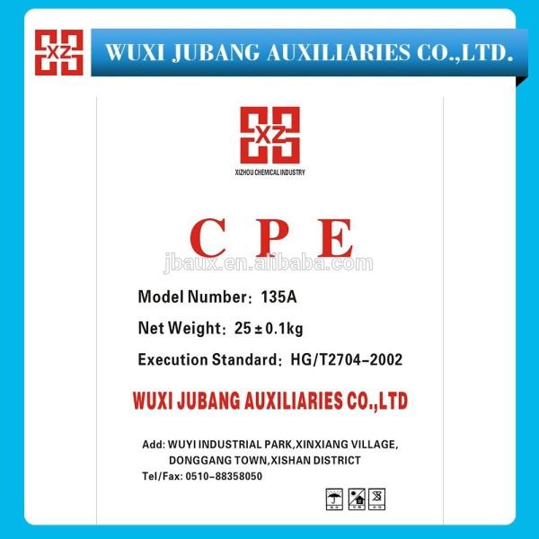 Usine de bonne qualité cpe 135 pour PVC avec le prix concurrentiel