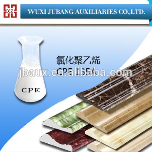 Chine fournisseur polyéthylène chloré CPE 135A pour marbre