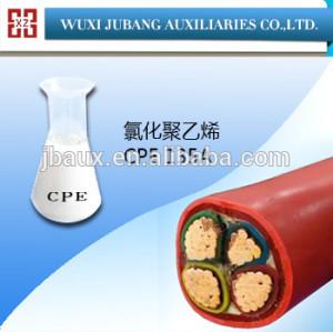염소화 폴리에틸렌 CPE 135a 한 첨가제 케이블 및 와이어 피복