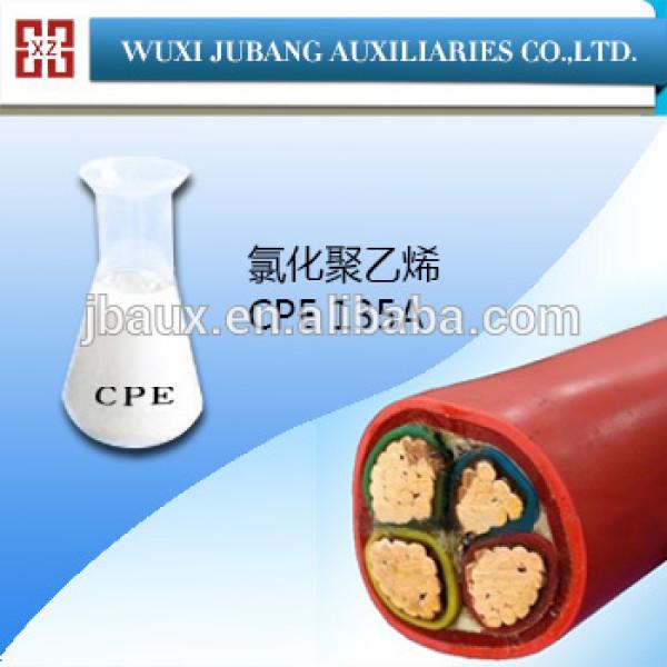 Polyéthylène chloré CPE 135A une additif en câbles et de fils gaine