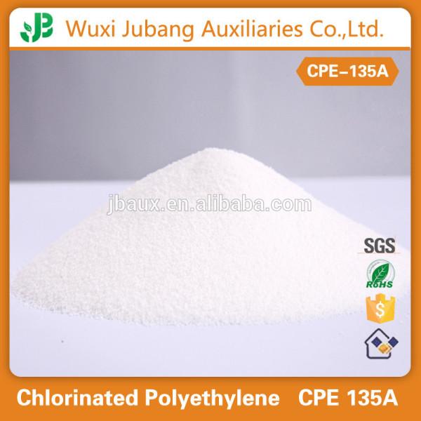 Polyéthylène chloré, Impact modificateur CPE 135A comme tuyaux en pvc matières premières