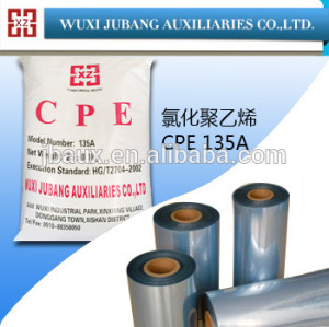 Cpe additif ( CPE-135A ) pour PVC film rétractable
