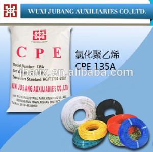 Cpe aditivo ( CPE-135A ) para PVC cubierto de alambre