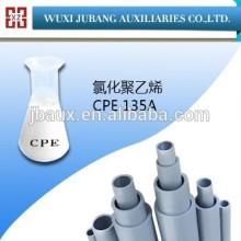 Polyéthylène chloré / CPE 135a tuyaux en pvc matières premières