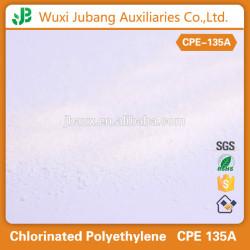 Caoutchouc agents auxiliaires, Polyéthylène chloré, Cpe135a pour pvc panneau de mousse
