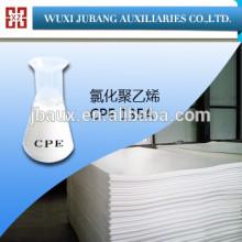 Pvc résine, Polyéthylène chloré, Cpe135a pour pvc plaques