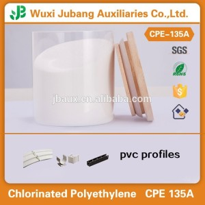 Upvc ventanas y puertas de perfiles de materia prima clorado addtive CPE 135A