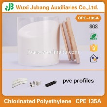 Pvc fenêtres et portes profils matières premières polyéthylène chloré CPE 135A