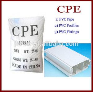 Clorado addtive Cpe135a usado en tubos de PVC y caucho industrias