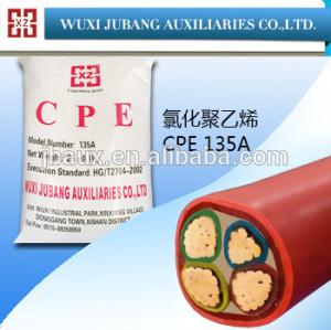 Kautschukhilfsmittel, cpe135a, chloriertes polyethylen für kabelschutzrohr