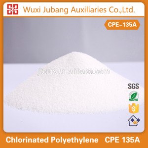 Plástico auxiliar agentes, cpe135a para tubería de pvc, excelente calidad