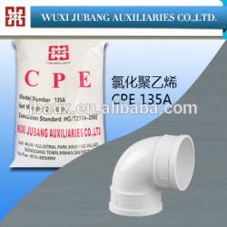Pvc résine, Traitement aide pour tuyaux en pvc, Cpe135a