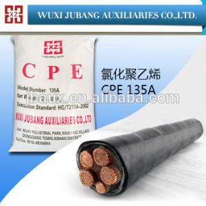 Plasticized policloruro, cpe 135a para protección del cable