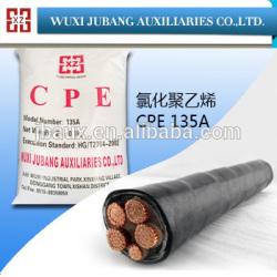 Plasticized chlorure de polyvinyle, Cpe 135a pour protection câble tube