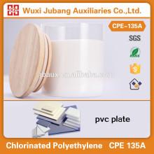 Cpe135, Impact modificateur, Usine fabricant pour pvc plaques