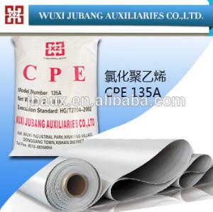 Cpe-135a, goma auxiliar agentes, clorado addtive para pvc films