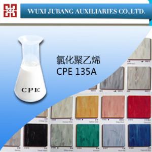Plasticized policloruro, cpe 135a, buena calidad, suelo de pvc