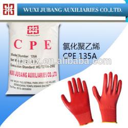 Cpe-135a polyéthylène chloré, Meilleur prix pour PVC gants