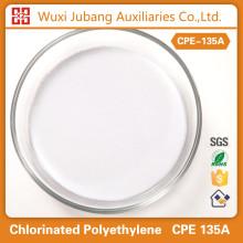 Matières premières chimiques, Cpe135a, Poudre blanche, Pvc panneau de mousse