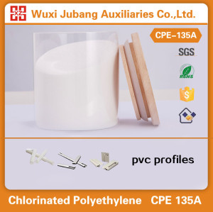 화학 원료, cpe-135, 최고의 품질 PVC 프로파일