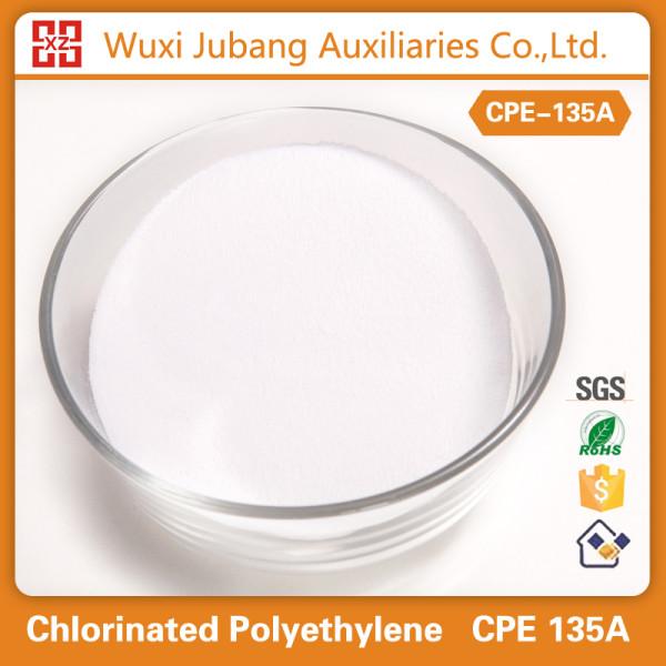 Polyéthylène chloré, Cpe-135a, Poudre blanche, Tuyaux en pvc