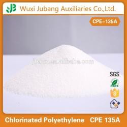 Polyéthylène chloré ( CPE ), Pour PVC Impact modificateur, En plastique, L'industrie du caoutchouc