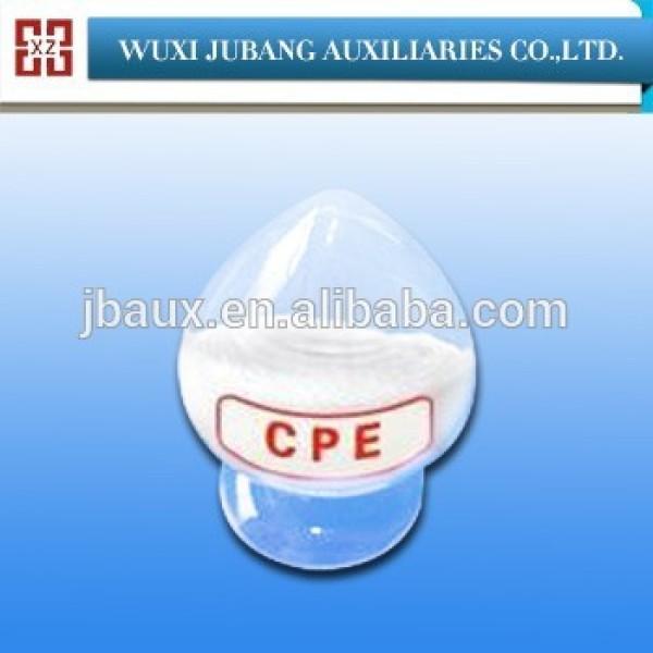 Fábrica buenas ventas modificador de impacto del pvc cpe135a