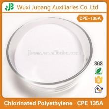 Matières premières importées pour PVC modificateur d'impact polyéthylène chloré CPE 135A