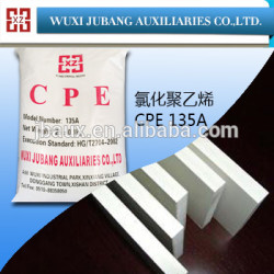 Pvc schlagzähmodifikator, cpe-135, ausgezeichnete dichte, pvc-schaum bord