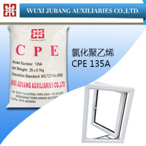 Chloriertes polyethylen, cpe 135, herrlichen dichte, pvc-fenster