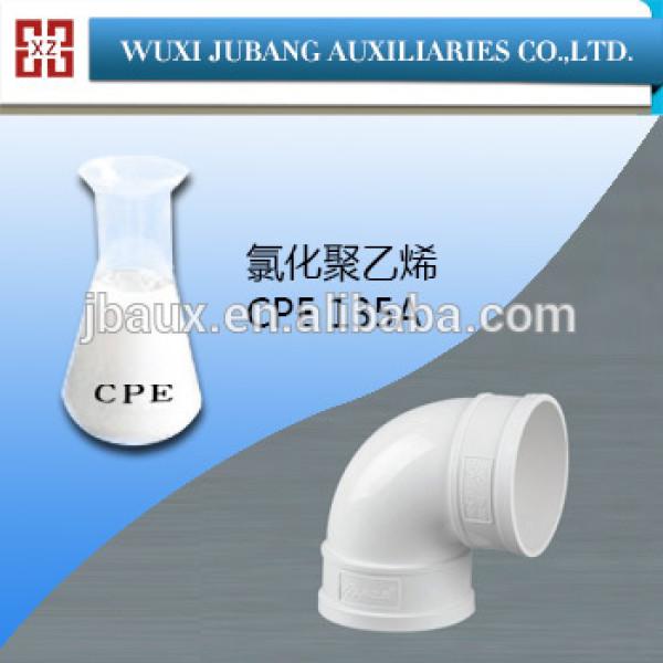 Resina de pvc, cpe-135a, clorado addtive para tubería de pvc, buen precio