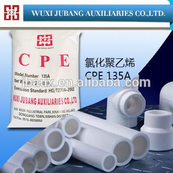 Pvc-harz, cpe-135a, chloriertes polyethylen für pvc-rohr, guten preis