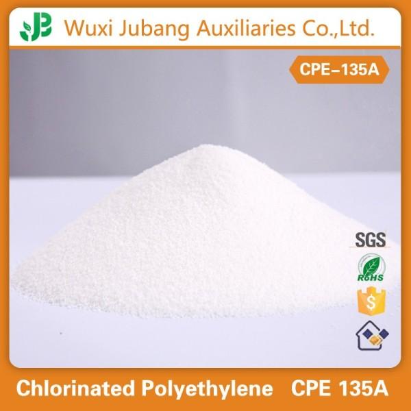 Polyéthylène chloré poudre blanche Cpe 135a pour PVC conduit de câblage