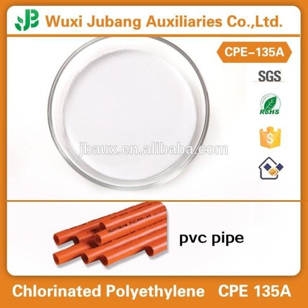 Impact modificateur CPE135 polyéthylène chloré 135a
